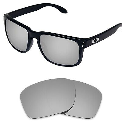 Tintart Polarized Replacement Lenses for-Oakley Holbrook Silver Metallic (STD)