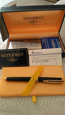 "Stylo plume Waterman ""idéal"" plume or"