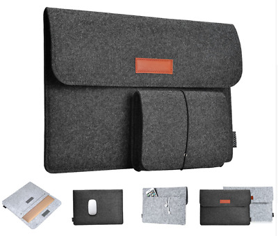 Case Sleeve Notebook Ultrabook Soft Sleeve Bag For MacBook Air Pro 11 12 13 Inch