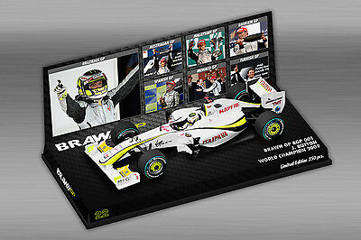 1/43 Minichamps Jenson Button Brawn GP BGP 001 2009 World Champion Lim 250pcs