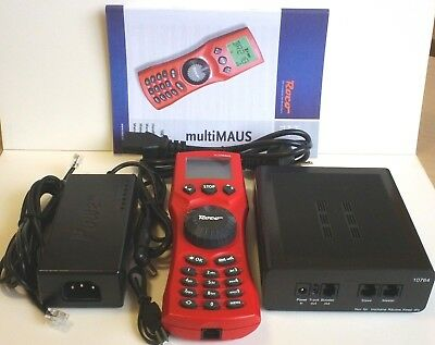 DCC Digital Control Set with Roco Multimaus - High Power 3.2amp Advanced Set