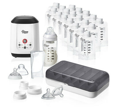 Tommee Tippee Closer To Nature Express & Go Complete  Starter Kit - Large