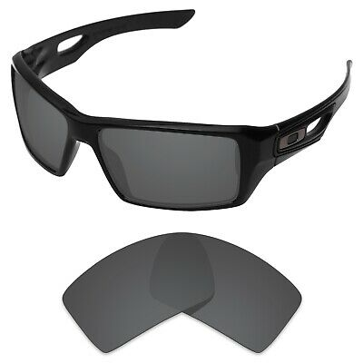 Tintart Polarized Replacement Lenses for-Oakley Eyepatch 1/2 Carbon Black (STD)