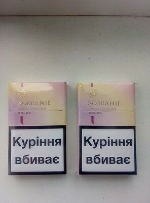 2 x Sobranie London Golds SLIM 2 x 20   (5)