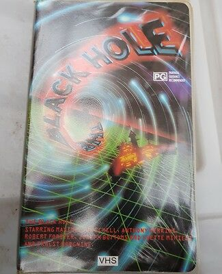 The Black Hole VHS video