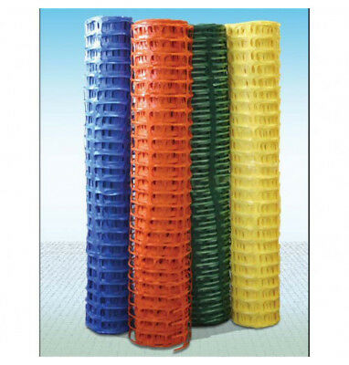 Plastic Barrier Fencing, Plastic Safety Mesh, Fence Netting + Pins included