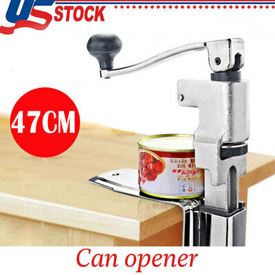 US Can Opener Commercial Kitchen Restaurant Chef Heavy Duty Table Bench Clamp