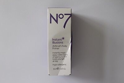 No7 Instant Illusions Airbrush Away Primer - 30ml - Hypo-Allergenic