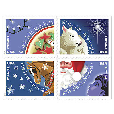 USPS New Christmas Carol Booklet of 20