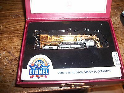 Hallmark Lionel 100th Anniversary Ornament In Box ~ 700E J-1E Hudson Locomotive