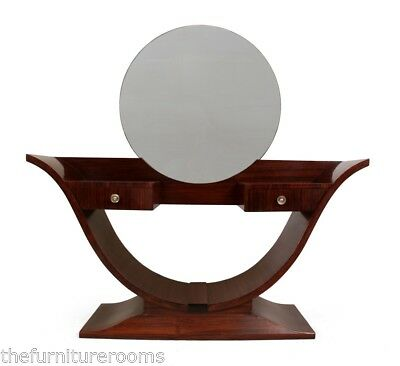 Art Deco Rosewood Dressing Table c1930 (745)