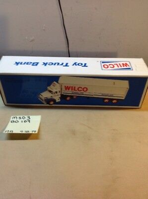 1988 Wilco Toy Truck Bank, Like Hess -C Ms