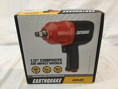 """Earthquake Central Pneumatic EQ12C 1/2"""" Composite Air Impact Wrench"""