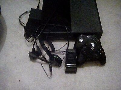 Microsoft Xbox One 500 GB Black Console