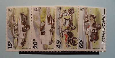 Tristan da Cunha Stamps, 1995, Local Transport, SG576-579, Mint never hinged