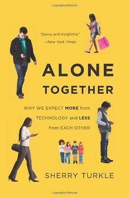 Alone Together by Sherry Turkle New Paperback Book
