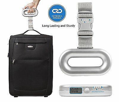 Tribetailer Digital Luggage Travel Scale -- An Ideal Postal Weighing Scale