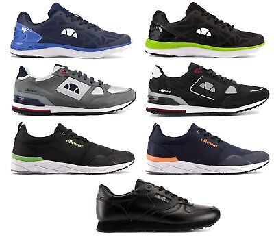 30b4056688 MEN'S ELLESSE LOGO Lo Top Running Gym Casual Trainers Sneakers Shoes