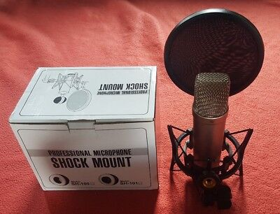 Rode NT1A Condenser Microphone + Shock Mount Excellent Condition, Little Use