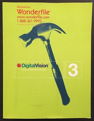 Digital Vision Royalty Free Stock Catalogue Volume 3 With CD