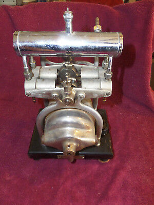 Antique C.M. Sorensen Co. Medical Embalming & Anesthesia Pump Steampunk