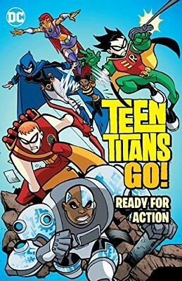 Teen Titans Go Ready for Action TP New Paperback Book