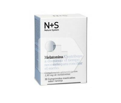 N+S Melatonina 1,95mg 30comp