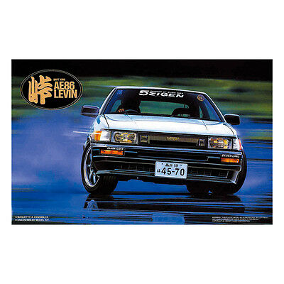 Fujimi Tohge-01 1/24 TOYOTA AE86 LEVIN HACHIROKU Limited Ver. from Japan Rare
