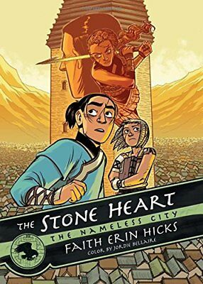 Stone Heart by Faith Erin Hicks New Paperback Book
