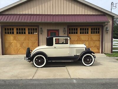 """1928 Chrysler """"52""""  Chrysler Model 52 1928 - Barn Find! - In Storage For Years! No Rust! Very Clean!"""