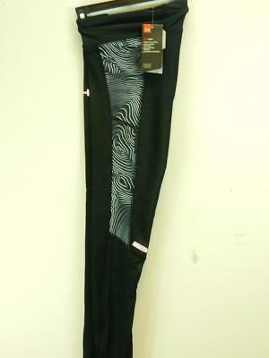 NWOT$60 Under armour Womens UA Compression Fly-By Printed Leggings Heatgear sz S