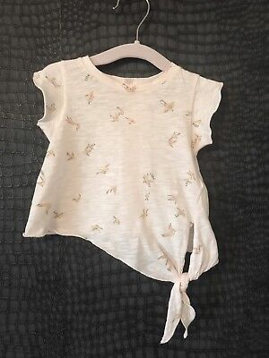 New Without Tags Baby Girls Chloe Bird Tshirt - 3M