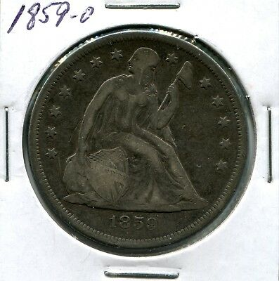 1859-O $1 Liberty Seated Dollar