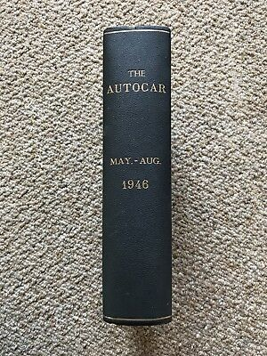 The Autocar Bound Volume May To August 1946