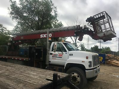2001 GMC C7500 Diesel with Boom