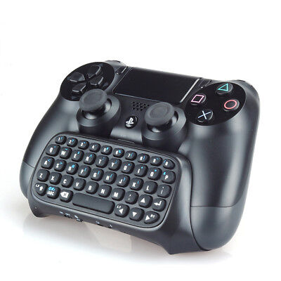 PS4 2,4 G drahtlose BLUETOOTH Tastatur CHATPAD Gaming-CONTROLLER Tastatur Game