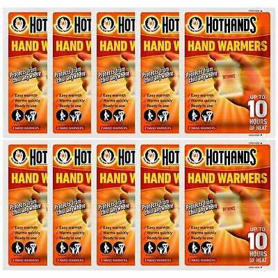 Hot Hands Hand Warmers - 10 Pairs