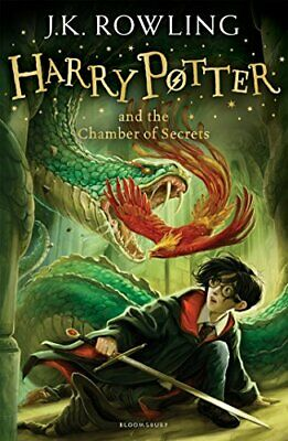 Harry Potter and the Chamber of Secrets by J. K. Rowling New Paperback Book