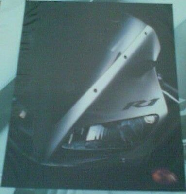 Yamaha YZF-R1 brochure 2002 excl cond.