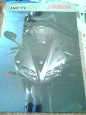 Yamaha YZF-R1 brochure 2003 excl cond.