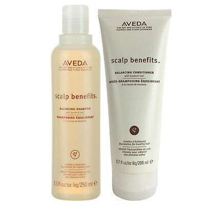 Aveda Scalp Benefits Shampoo 8.5oz and Conditioner 6.7oz (Duo Pack)