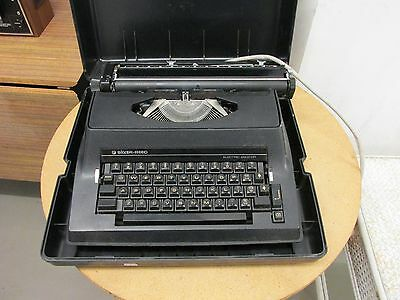 Electric Typewriter Silver-Reed 2200Cr In A Storage Case