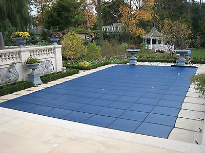 Mesh Swimming Pool Safety Cover 20 Year Warranty - Canadian Made Starting @C$589
