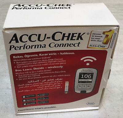 Accu-chek Performa Connect Glucose Monitor Meter mg/dL - Wireless Testing