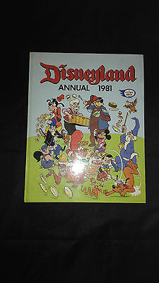 Disneyland Annual 1981 Vintage Childrens Hardback Book Near Mint