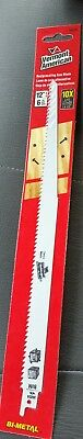 "Vermont American 30234 12"" 6 Tpi Wood Cutting Reciprocating Saw Blades,No 30234"