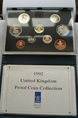 1992 UK Proof Set with rare EEC 50p