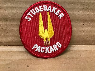 """Vintage Embroidered Studebaker Packard Jacket Patch 3"""" X 3"""""""