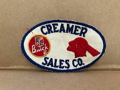 "Vintage 1950/60's Embroidered Buick & Pontiac Jacket Patch  4.5"" X 3"""