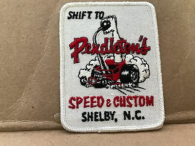 "Vintage 1960's Embroidered Pendleton's Speed & Custom Jacket Patch  4"" X 3"""
